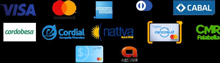Tarjetas de débito y crédito